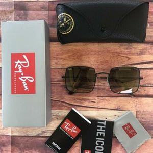 60%OFF AUTHENTIC RAY BAN SQUARE😎